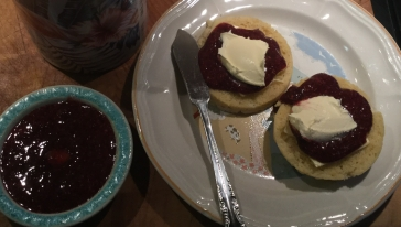 Low Carb Jam with 90 Second keto bread