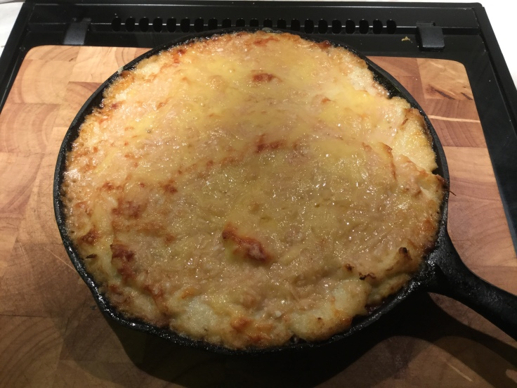 cooked cauli sheppherds pie